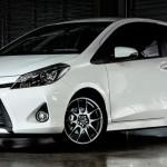 Gambar mobil toyota all new yaris 2014 putih