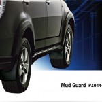 Toyota New Rush aksesoris mud guard
