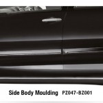 Toyota New Rush aksesoris side body moulding