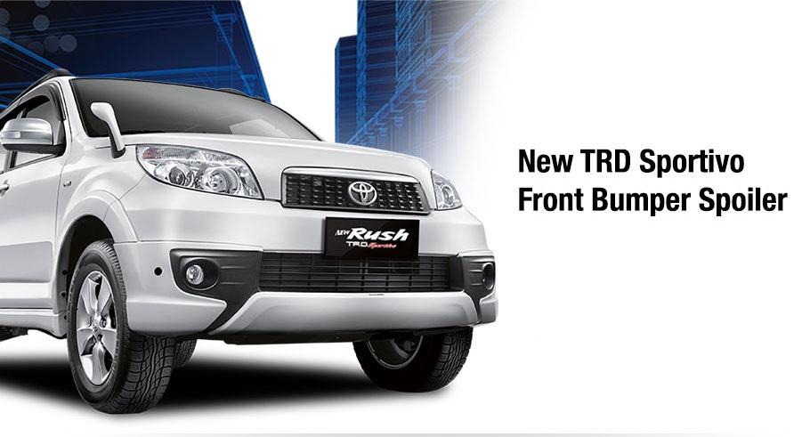 Toyota New Rush exterior depan