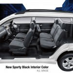 Toyota New Rush interior dalam tempat duduk