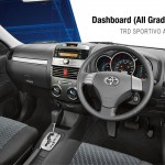 Toyota New Rush interior dashbor