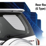 Toyota New Rush rear roof spoiler