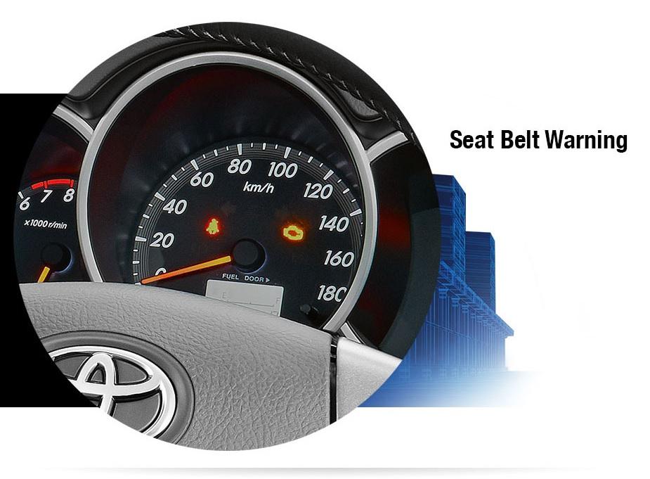 Toyota new rush fitur keamanan seatbelt warning