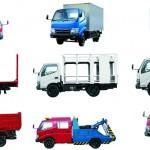 Spesifikasi truk Toyota Dyna konversi angkutan barang