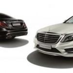 Mercedes-Benz S550 mobil sport kelas premium pilihan warna