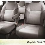 Toyota Kijang Innova aksesoris - captain seat