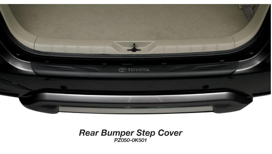 Toyota Kijang Innova aksesoris - side skirt