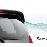 Toyota Kijang Innova aksesoris rear roof spoiler