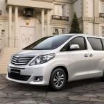Toyota alphard exterior