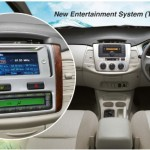 interior toyota innova tipe v new entertaintment system tipe j & e