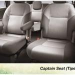 toyota innova interior captain seat