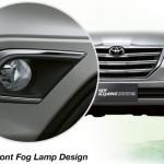 toyota mpv kijang innova front fog lamp design lampu depan