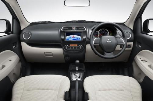 Desain Interior Mobil Mitsubishi New Mirage 2015