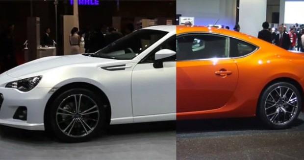Perbandingan Mobil Toyota GT 86 dengan Subaru BRZ