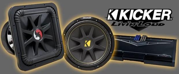 Audio mobil murah Kicker