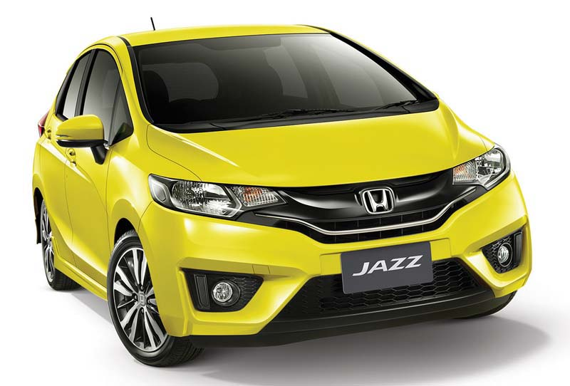 Honda Jazz city car murah warna kuning