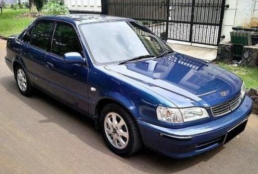 Mobil Sedan Toyota All New Corolla 1999 biru harga 75 jutaan