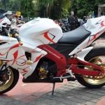 gambar modifikasi motor Honda keren banget