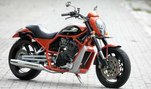 gambar modifikasi motor antik honda cb