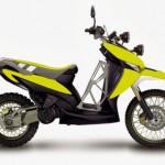 Modifikasi Motor Suzuki motor spin