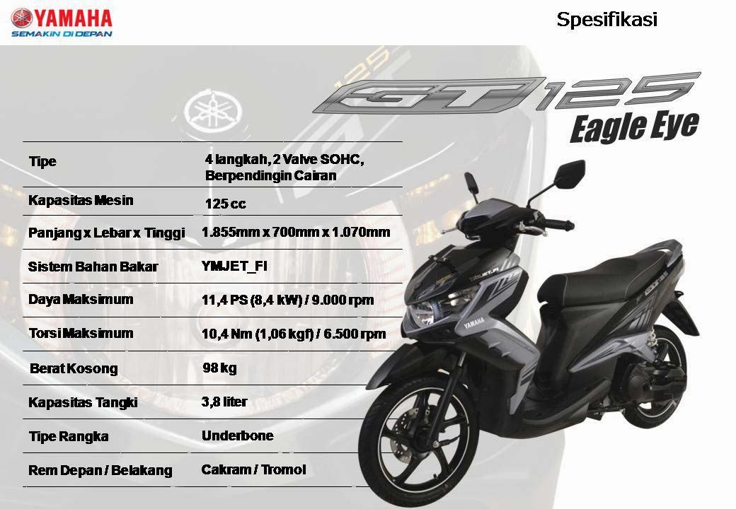Yamaha GT125 Eagle Eye 2014 15 jtan