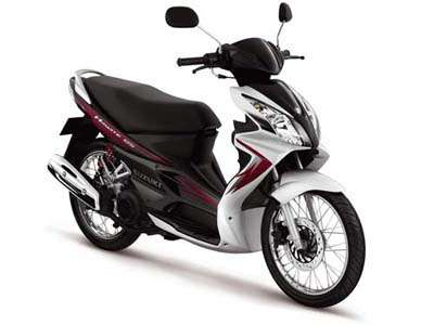 motor nyaman shock breaker empuk Suzuki Sky Wave 125