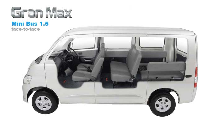 Daihatsu Gran Max MB muat 9 orang harga 140 jtan