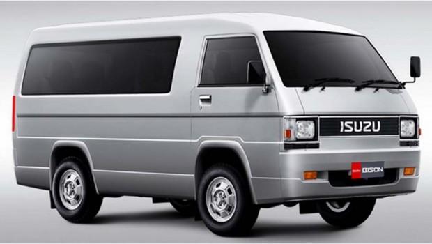 Isuzu Bison Minibus mobil berkapasitas 9 sd 10 orang