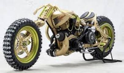 gambar modifikasi motor keren unik murah