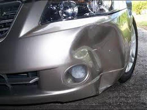 cara memperbaiki bumper mobil penyok sendiri