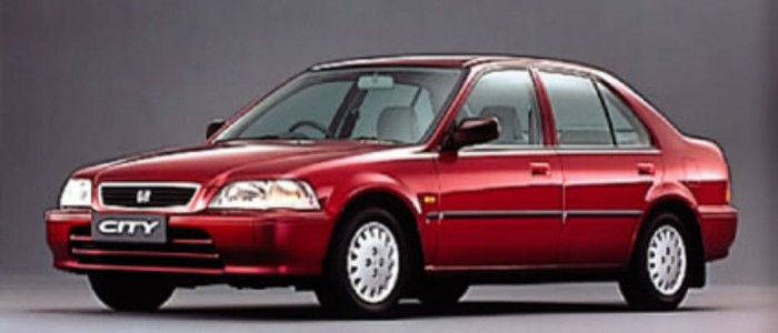 Honda city 1996 warna merah
