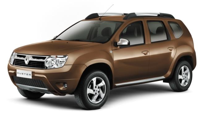 mobil disel berkualitas Renault Duster warna coklat buatan barat