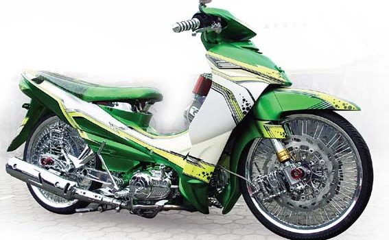 Demikianlah tips modifikasi dan gambar dari Yamaha Jupiter Z , semoga