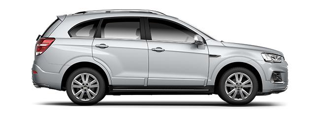 mobil diesel Chevrolet Captiva