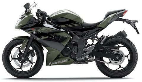 Kawasaki Ninja 240 RR Mono hitam