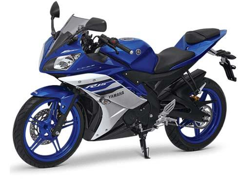 Motor yamaha full fairing Yamaha R15 V3 biru