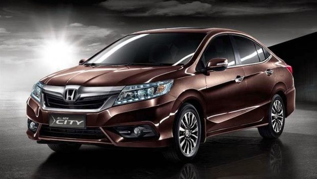 honda all new city coklat