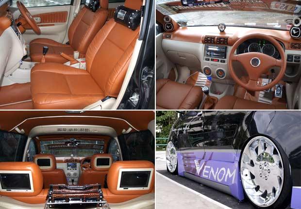 Modifikasi Interior Mobil Avanza Elegant