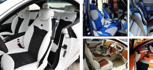 Modifikasi interior untuk jok Mobil Avanza Elegant