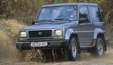 Daihatsu Rocky mobil jadul 90an