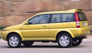 Mobil dua pintu muah Honda HRV 2001